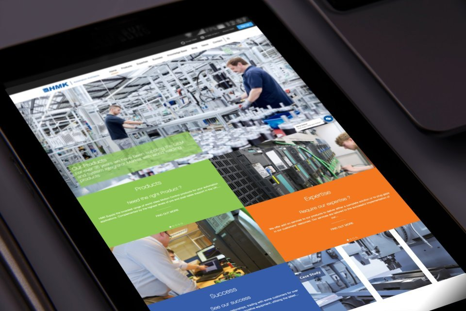 Responsive HMK Website Design based in Cheshire